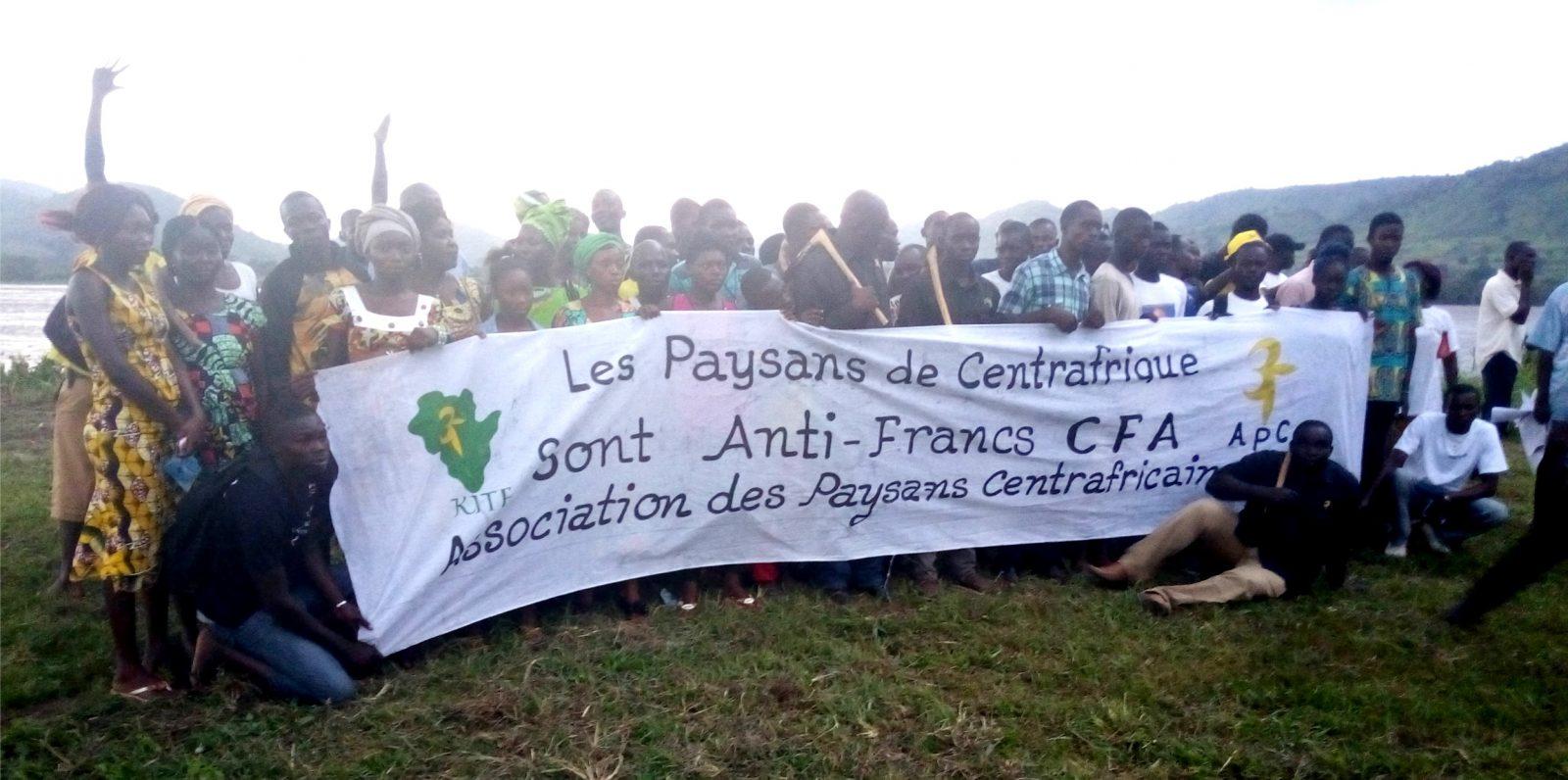 Front Anti CFA en Centrafrique